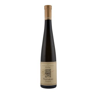 NAVARRO-Trockenbeerauslese- Late Harvest 2013 Riesling - Cluster Select - 0,375 Liter- Goldmedaille-Best of Class. Best of Show.